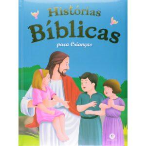 Histórias Bíblicas para Crianças Capa Dura Almofadada (26 x 19 cm)