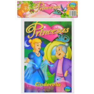 Princesas 3D – Embalagem econômica (Cód: 27134)