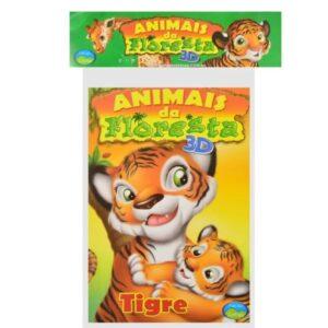 Animais da Floresta 3D – Embalagem econômica (Cód: 27136)