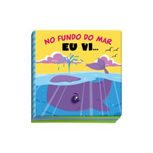 LIVRO BANHO NO FUNDO DO MAR EU VI (cod 27411)