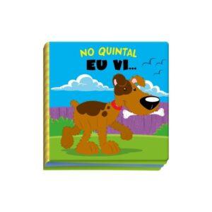 LIVRO BANHO NO QUINTAL EU VI (cod 27414)