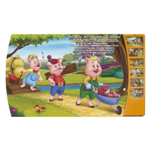 história favorita Três Porquinhos