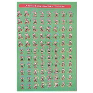 1500 ADESIVOS PARA PROFESSORES – TURMA DA MÔNICA (Cód. 10362)