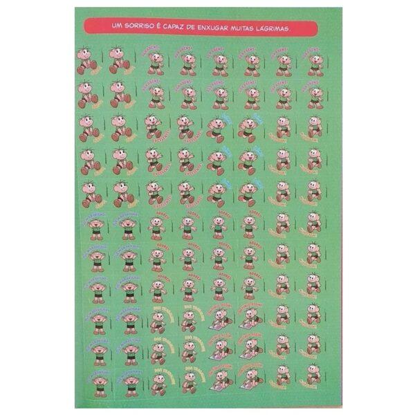 1500 ADESIVOS PARA PROFESSORES - TURMA DA MÔNICA
