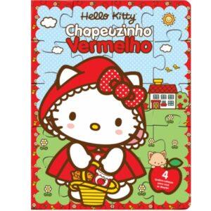 Quebra Cabeça Hello Kitty – Chapeuzinho Vermelho (Cód: 16007)