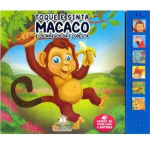 Toque e sinta sonoro – Macaco (65153)