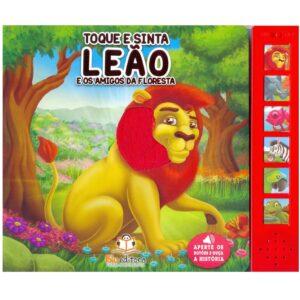Toque e sinta sonoro – Leão (65152)