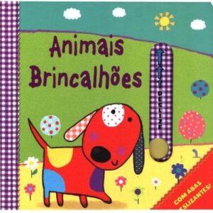 Livro com abas deslizantes – Animais Brincalhões (Cód. 14531)