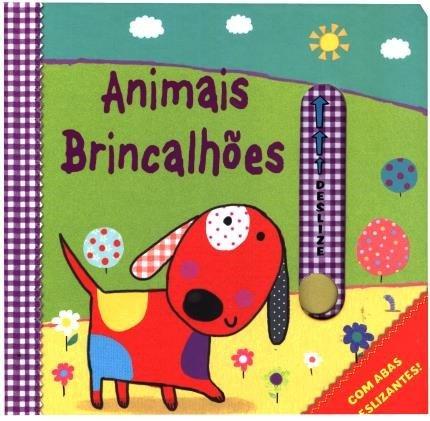 Livro com abas deslizantes - Animais Brincalhões (Cód. 14531)