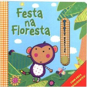 Livro com abas deslizantes – Festa na Floresta (Cód. 14533)