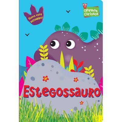 OLHINHOS CURIOSOS - Estegossauro (Cód: 17526)