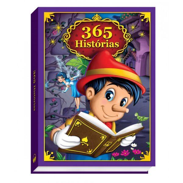 365 HISTORIAS - CAPA ALMOFADADA (Cód: 27710)