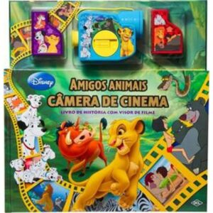 Câmera de Cinema – Amigos Animais (Cód: 34208)