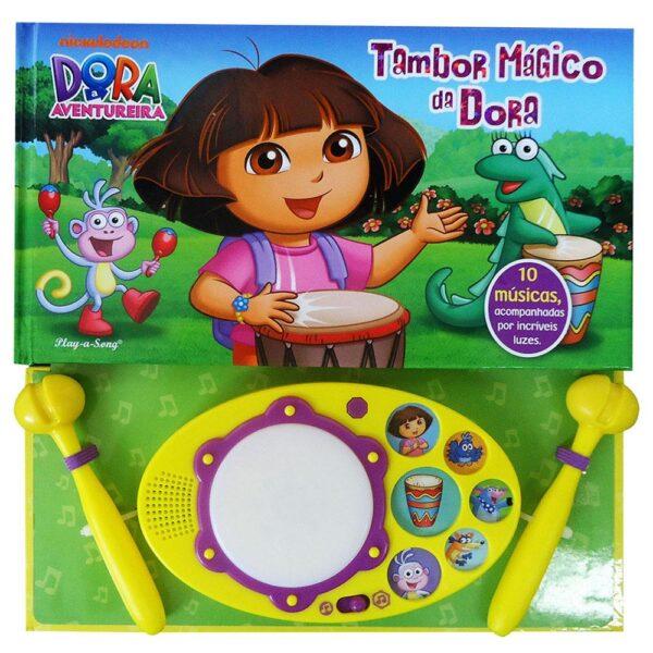 Dora, A Aventureira - Tambor Mágico da Dora (Cód: 35217)