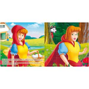 Livro Quebra-cabeça Grande: Chapeuzinho Vermelho (Cód: 61633)