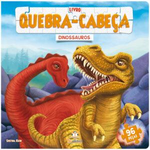 LIVRO QUEBRA-CABECA GRANDE – DINOSSAUROS (Cód: 68611)