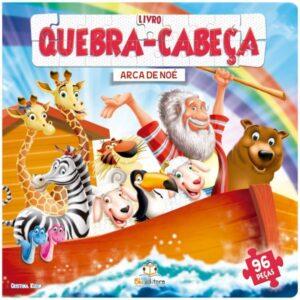 LIVRO QUEBRA-CABECA GRANDE – ARCA DE NOE (Cód: 68612)