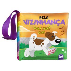 LIVRO DE PANO: BEBE FELIZ PELA VIZINHANÇA (Cód: 20412)