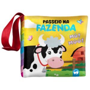 LIVRO DE PANO: BEBE FELIZ PASSEIO NA FAZENDA (Cód: 20414)