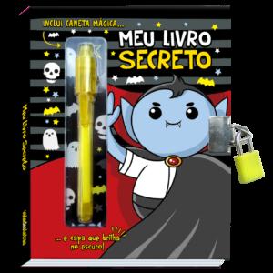 Meu Livro E Diário Secreto  – Preto(Cód: 20303)
