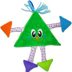 Livro De Pano-Formas Divertidas – Triângulo (Cód: 60412)