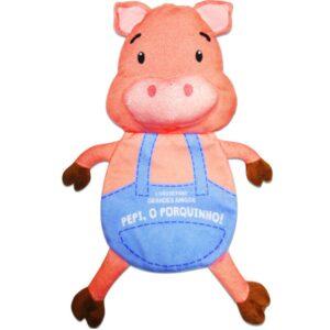Livro de Pano: Grandes Amigos – Pepi, o Porquinho