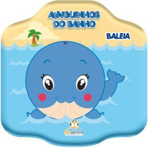 Amiguinhos do banho: Baleia (Cód: 60443)