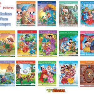Coleção 14 Livros – Clássicos Para Sempre – Turma Da Mônica (Cód: 56960)