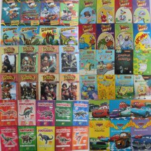 Kit Econômico com 100 Livros Infantis Sortidos para Meninos