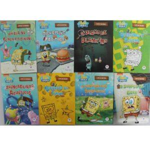 Kit Econômico com 100 Livros Infantis Sortidos