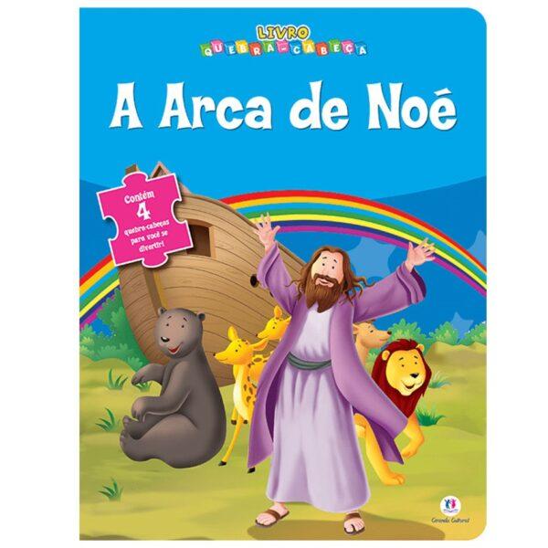 Quebra cabeça biblico arca de noe