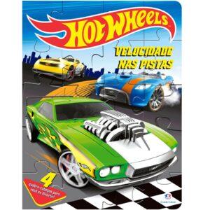 Quebra Cabeça – Hot Wheels – Velocidade nas Pistas