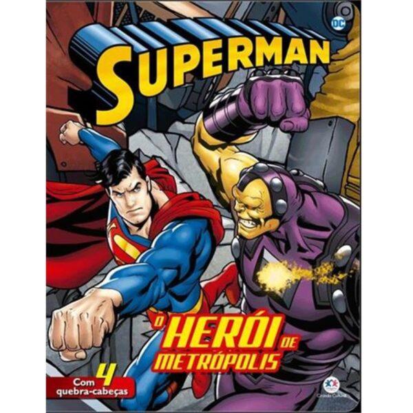 quebra cabeça superman o heroi de metropolis