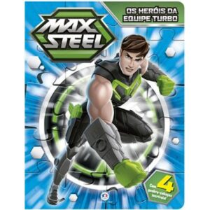 Quebra Cabeça – Max Steel – Os Herois da Equipe Turbo