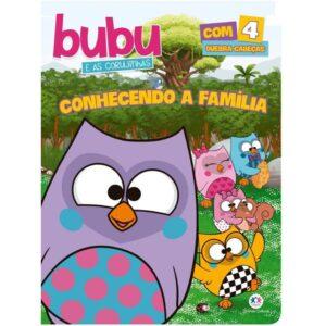 Quebra Cabeça – Bubu e as Corujinhas – Conhecendo a Familia