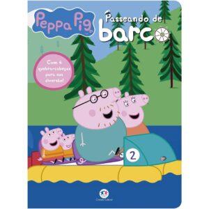 Quebra Cabeça – Peppa Pig – Passeando de Barco