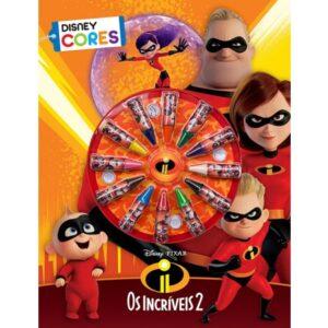 Disney – Cores – Os Incríveis 2