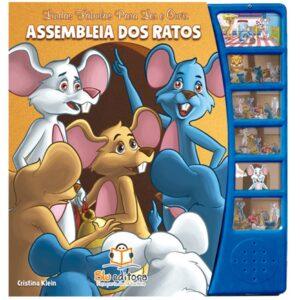 Lindas Fábulas para Ler e Ouvir: Assembleia dos Ratos