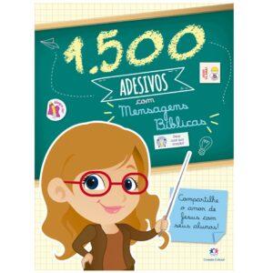 1500 Adesivos com Mensagens Bíblicas