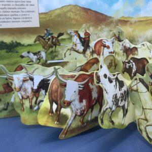 Livros Sonoro Sons do Passado com Pop Up 3D – Velho Oeste