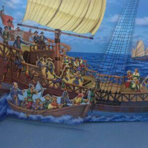 Livros Sonoro Sons do Passado com Pop Up 3D – Piratas