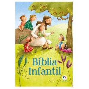 Bíblia Infantil Capa Dura Almofadada (21 x 14cm)