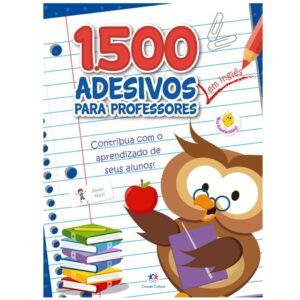 1500 adesivos – Contribua com o aprendizado de seus alunos Inglês