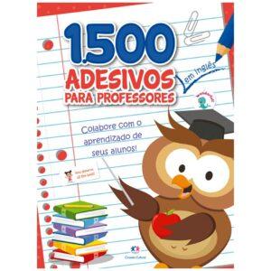 1500 adesivos – Colabore com o aprendizado de seus alunos Inglês