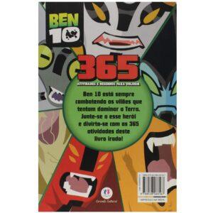365 Atividades – Ben 10 – E Desenhos para Colorir