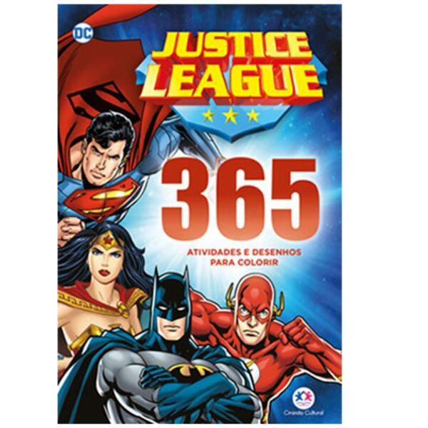 365 atividades liga da justiça
