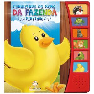 Livro Sonoro Conhecendo os Sons da Fazenda: Pintinho