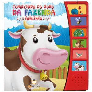 Livro Sonoro Conhecendo os Sons da Fazenda: Vaquinha
