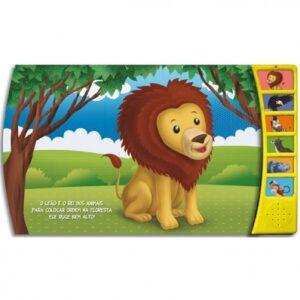 Livro Sonoro Conhecendo os Sons da Floresta: Macaco