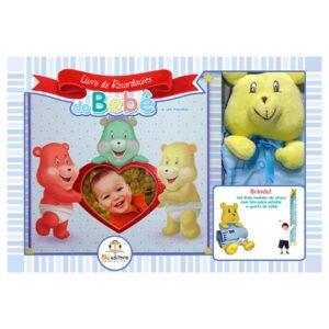 Livro de Recordações do Bebê – Menino